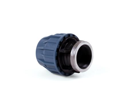 """Rak koppling för PEM 50 mm x 1 1/2"""" inv. gänga"""