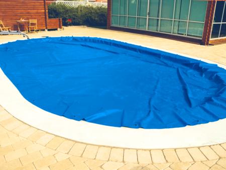 Miami Pool Standardskydd Vinterskydd poolskydd vintertäckning friformpool