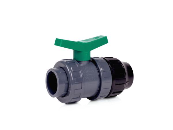 Ventil 50 mm inv limning / klämmkoppling 50mm