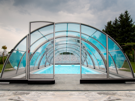 Pooltak Praktik Diamant pool tak Miami Pool