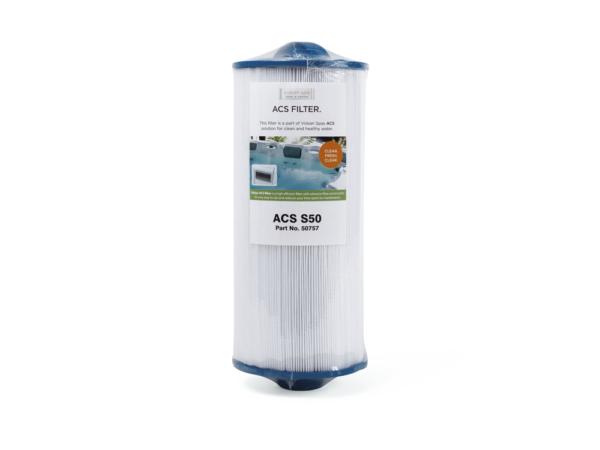Filterpatron Viskan Spa S50 med gänga spafilter Miami Pool