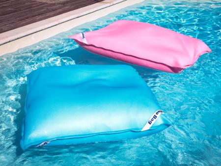 Jumbo Bag Swimming Bags rosa och ljusblå