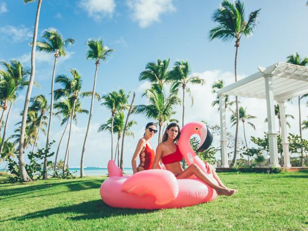 Flytande Flamingo