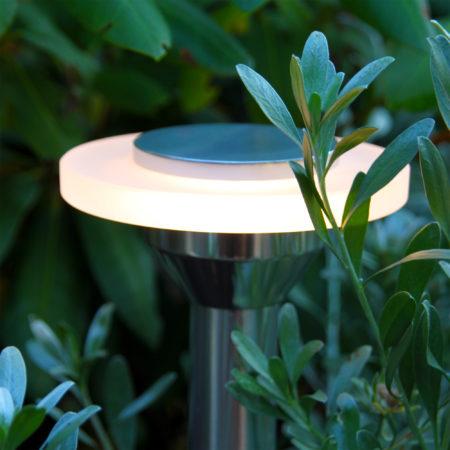 Ellips trädgårdsbelysning pollare